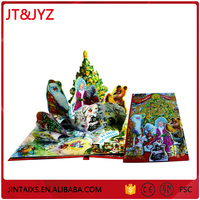 professional high quality hardcover chidren book printing with vivid and beautiful pictures