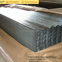 Used galvanized corrugated iron sheet metal roofing sheet low price