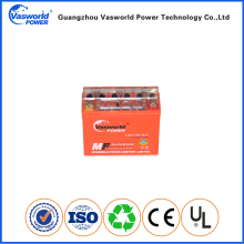 Chinese Battery Supplier 12 Volt 7Ah 12N7A 3A colourful case gel Motorcycle Battery