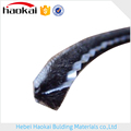 weather strip brush seal strip with fin