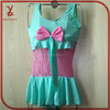 YZ56 2015 piece swimsuit models girls swimsuit children (3-6 years old) wholesale children's swimwear