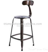 Triumph Nicolle Antique Industrial Bar Stool /Metal Bar Stool/ coluorful surface finish Nicolle Dining stool
