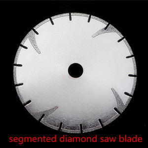 "7""180mm electroplated marble diamond cutting disc"