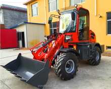 table of prices of new tractors mini agricultural garden wheel loader