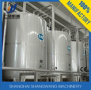 Processing Line Type UHT Plant /Plate milk pasteurizer and homogenizer/milk production machinery