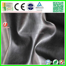 factory stock high quality vinyl leather fabric