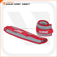 Nylon adjustable sand ankle and wrist weight