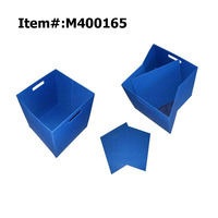 Collapsible Foldable Home Key Fabric Non Woven Toy Storage Box