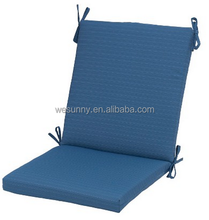 Outdoor Chair Cushion One Piece Seat and Back Cushion Dining Chair Cushion