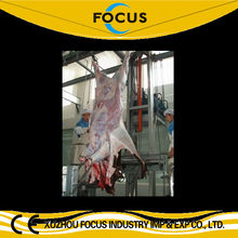 cattle cow beef pig sheep goat processing Muslim halal entire slaughtering line hydraulic type skin removed machine