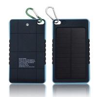 Waterproof 8000mAh For Iphone Samsung LG Solar Power Bank Mobile Battery Charger