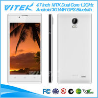 2014 New Products 4.7 inch 3G Android MTK Dual Core Mobile Phons