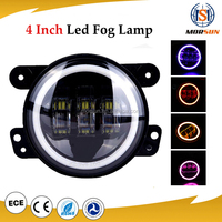 "Guangzhou auto parts, morsun 4"" fog lamp, osram jeep 4"" 30w wrangler led fog light"