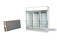 evaporator for refrigeration showcases parts with refrigeration compressor air cooling unit