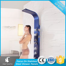 New Model Stainless Steel Shower Panel With Bathroom Water Heater