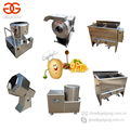 2017 Industrial Finger Chips Equipment Potato Chips Making Machine Frozen French Fries Processing Plant