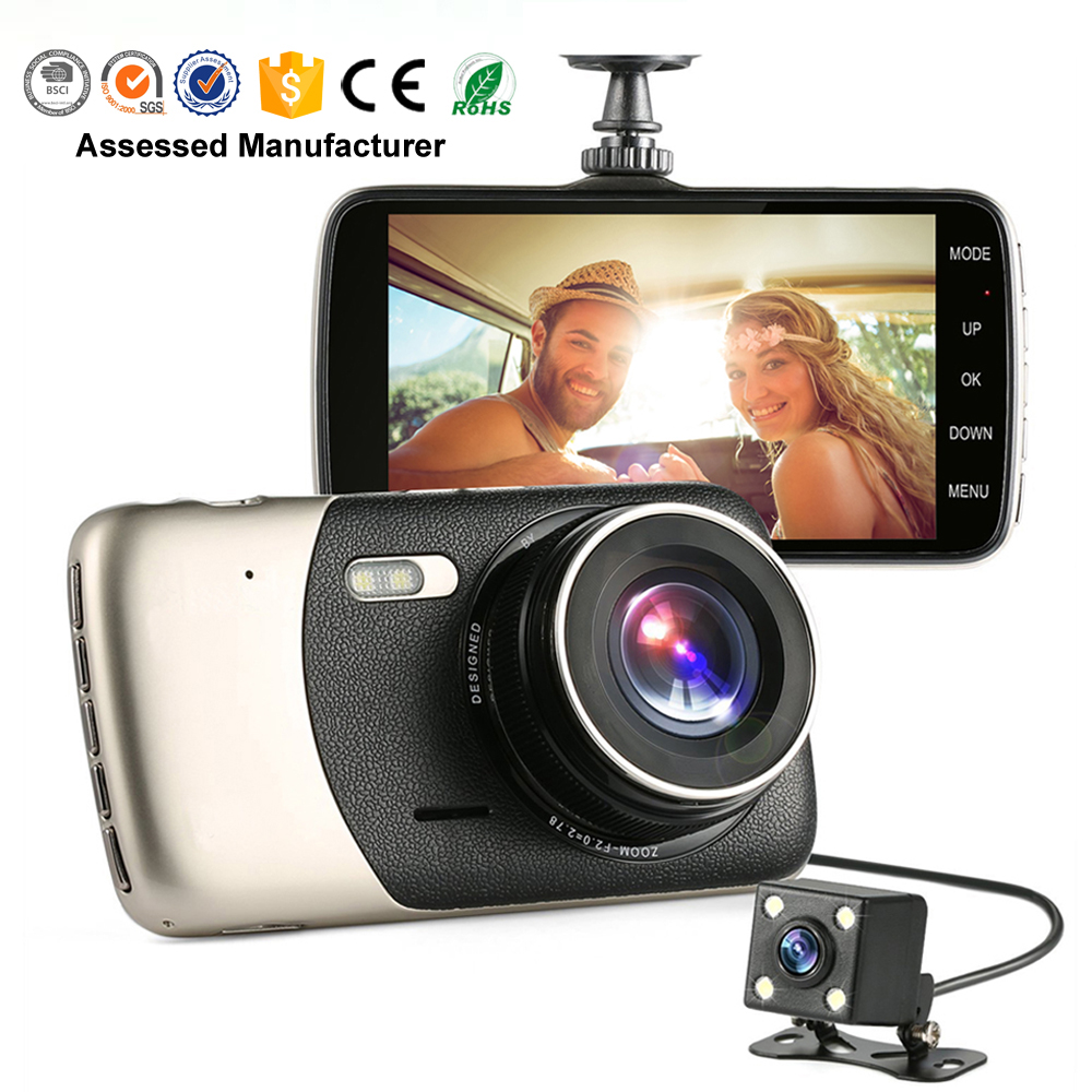 Full HD 1080 p coche DVR 2.0 m PS5226 CAMS Sony IMX323 170 grados video del coche