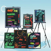 Flashing LED writing board with arcylic surface for advertising