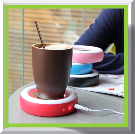 battery powered coffee cup warmer cup for coffee