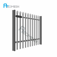Cheap Beautiful Colorful Iron Fence Palisade Fence / Picket Fencing/Compound Fence
