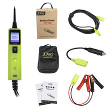 2017 New Original JDIAG BT-100 Battery Electrical System Circuit Tester good quality JDIAG BT100 one year warranty offer
