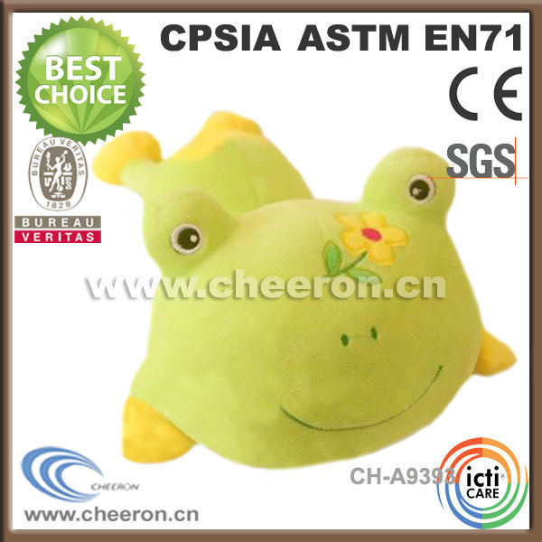 Lying green frog wholesale promotional products toys China