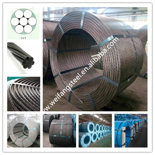 PC high tensile steel strand wire,prestressing steel strand price