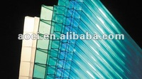 sun rain canopy colored polycarbonate sheet