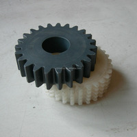 High presicion plastic gears and small nylon pom plastic rack and pinion gear