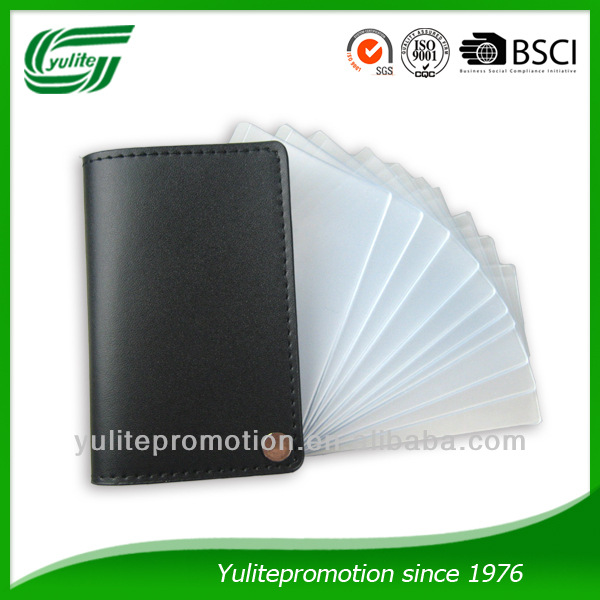 new design promotinal pvc credit card holder