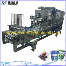 yoghurt cup filling machine