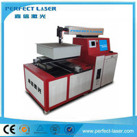 CNC control Mild steel cutting machine for YAG laser source with 500W/700W
