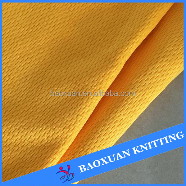 100%polyester dry fit fabric cheap mesh fabric basketball jersey