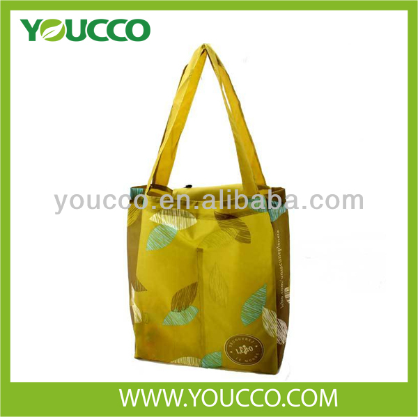 2014 Reusable Folding Cloth Grocery Bags Wholesale