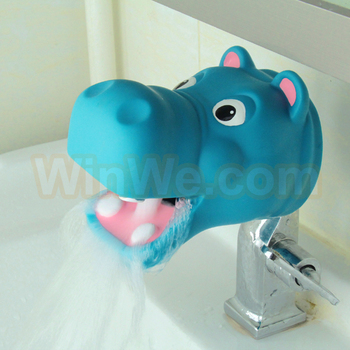 Baby Safey Bath Water Spout Cover Soft Plastic Hippo Shape Buy Whosale Children Toy Factory