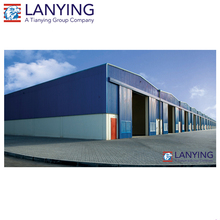 Long span steel structure construction design China warehouse