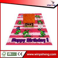 Customized Music 3D Pop Up Invitation Greeting Card