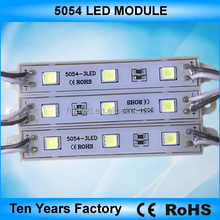 High quality dc 12v 3 chips smd 5054 waterproof led module