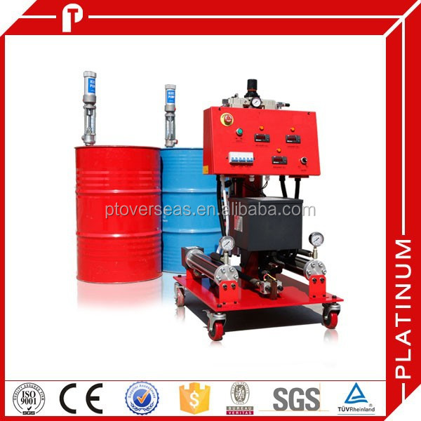 poly and ISO foam spray machine