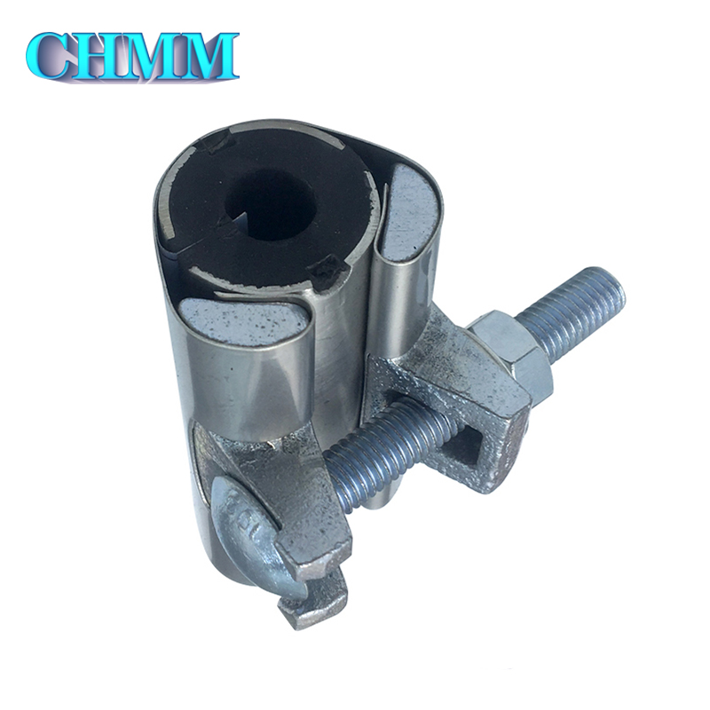 Good Price Small-dia Easy Removable Rubber Joint Pipe Clamp Stainless Pipe Clamp