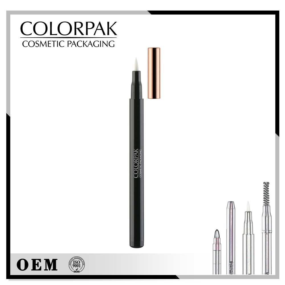 Cosmetic liquid eyebrow/eyeliner pencil packaging in China