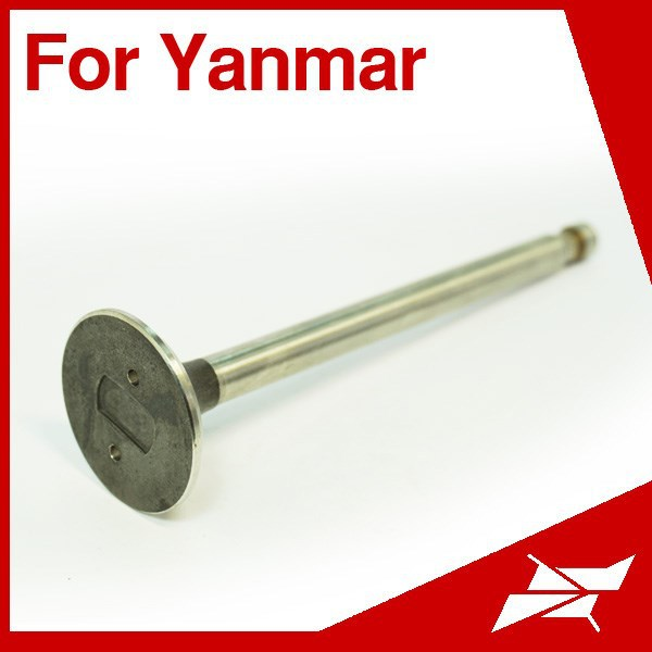 For Yanmar marine diesel intake exhaust 3SM engine valve