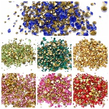 Most popular machine cutting chaton glass rhinestones;ss9 colorful chaton point back rhinestone;factory chaton rhinestones