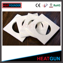 Heat resistant non-flammable ceramic fiber paper