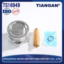 China manufacture professional auto parts aluminum piston
