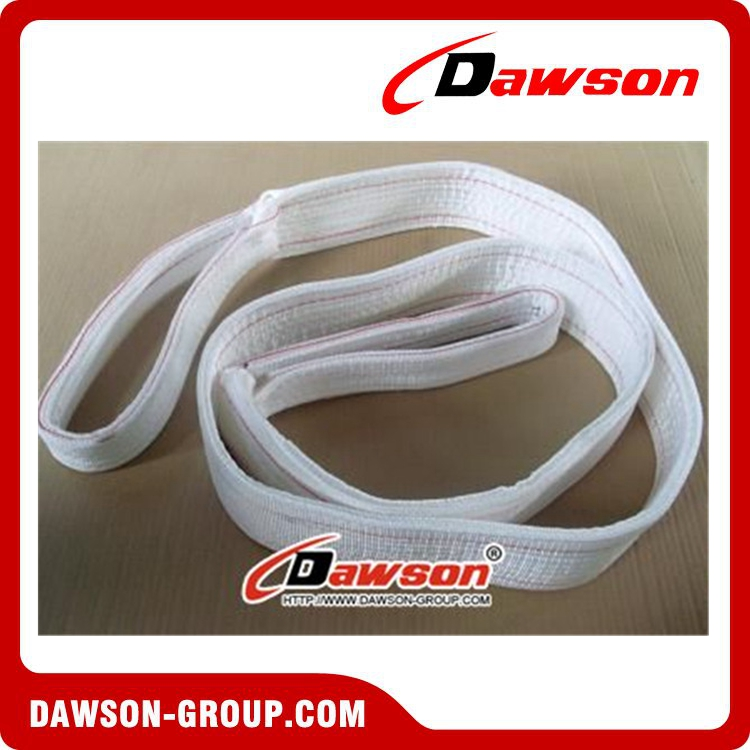 European standard polyester one way webbing sling with safety factor 4:1 5:1 7:1