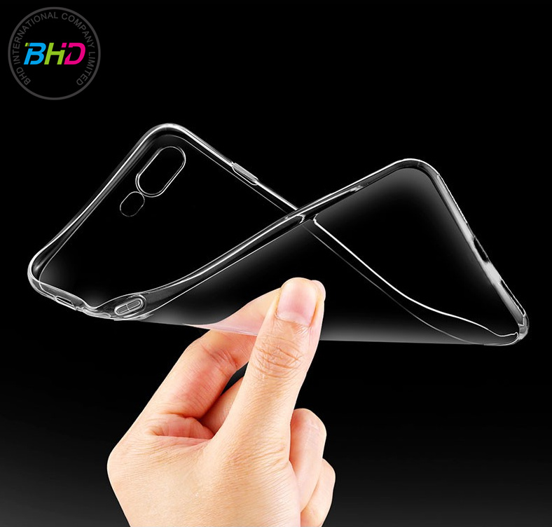 OEM Factory China Crystal TPU Case Soft Plastic Clear Cell Phone Case For Iphone 7 Transparent