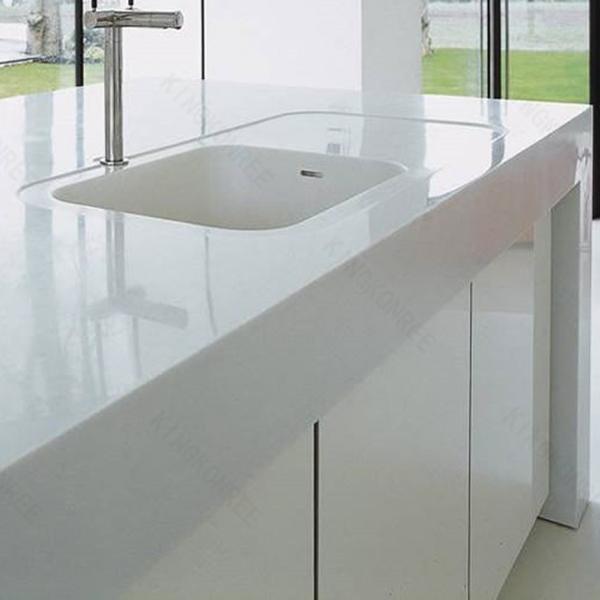 Molded Vanity Tops White Carrera Marble Vanity Top Buy