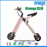 Chinese electric bike Folding three wheel bicycle for adults