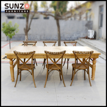 wood furniture antique wood table rustic banquet table 8 seater french country style dining table